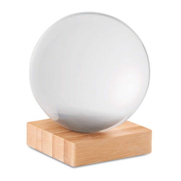 Glaskugel auf Bambussockel Beira Ball