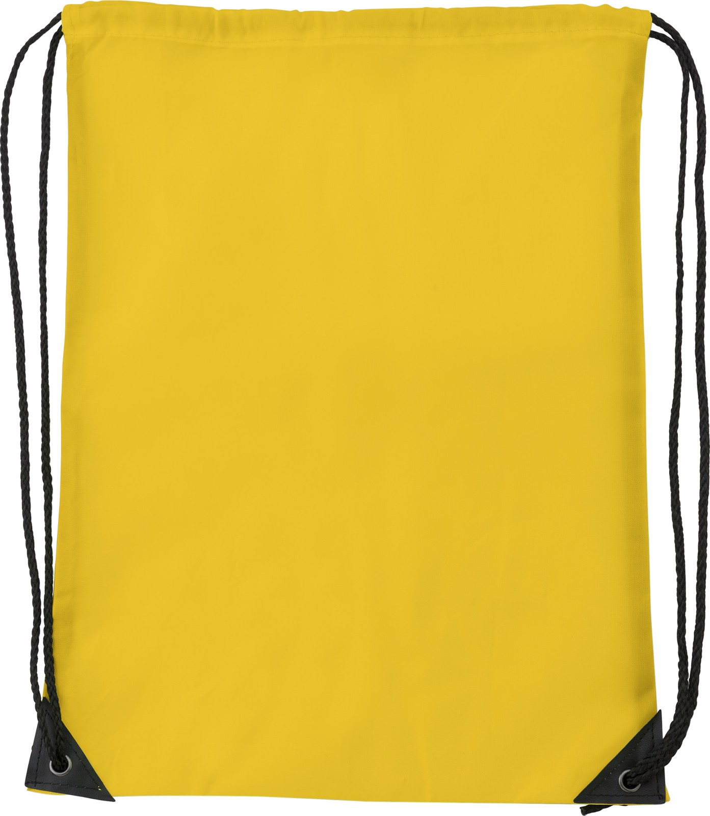 Polyester (210D) drawstring backpack - Yellow
