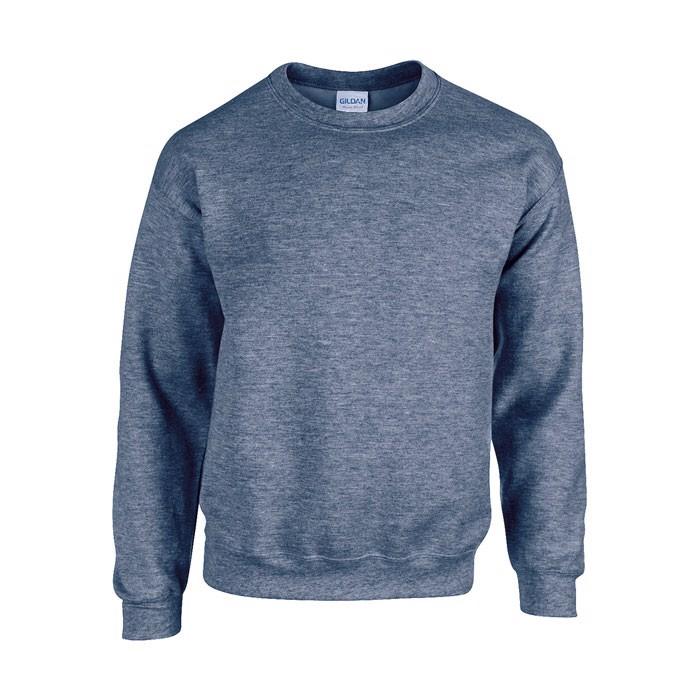 Unisex Sweatshirt 255/270 Heavy Blend Sweat 18000 - Heather Navy / XXL