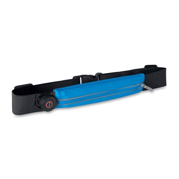Running waist belt with light Ironrun