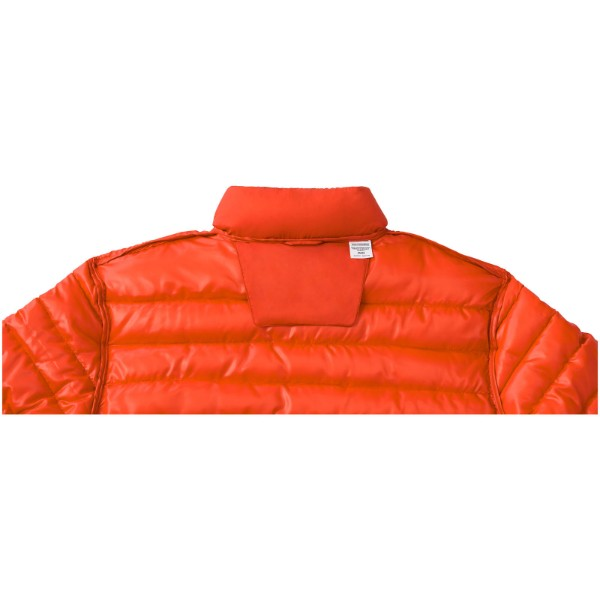 Athenas men's insulated jacket - Orange / XL