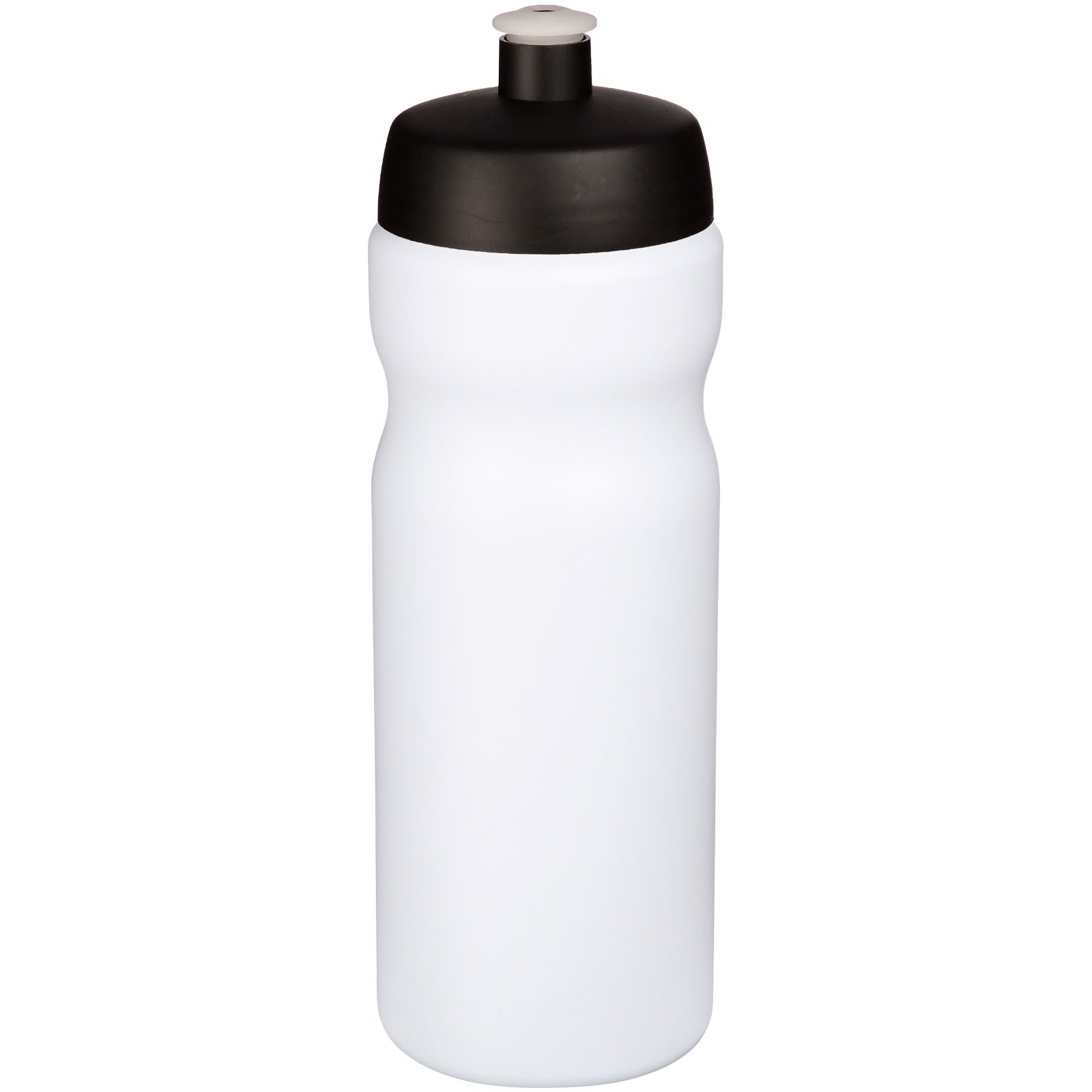 Baseline® Plus 650 ml sport bottle - White / Solid black
