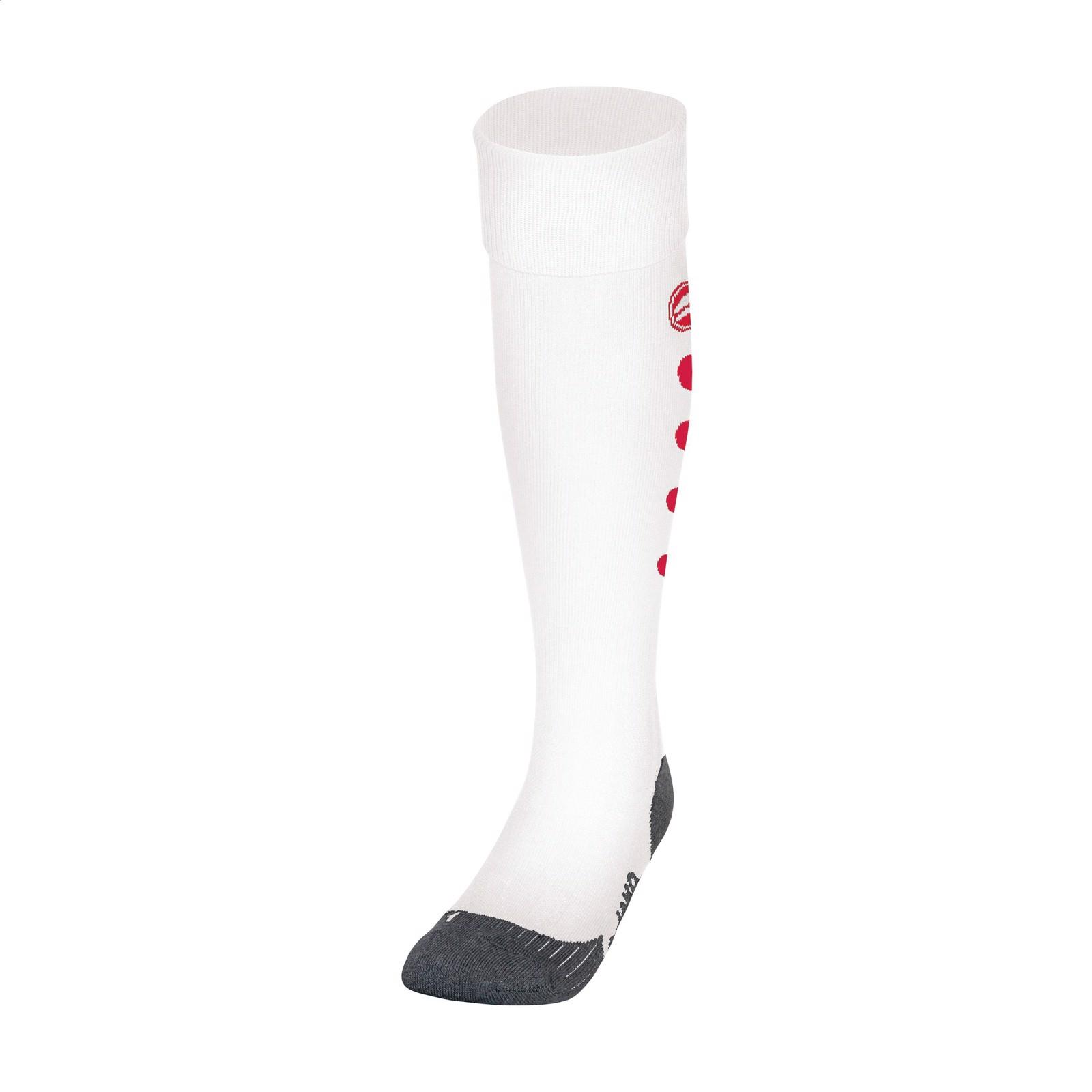 Jako® Roma Sport Socks - White / Red / XS