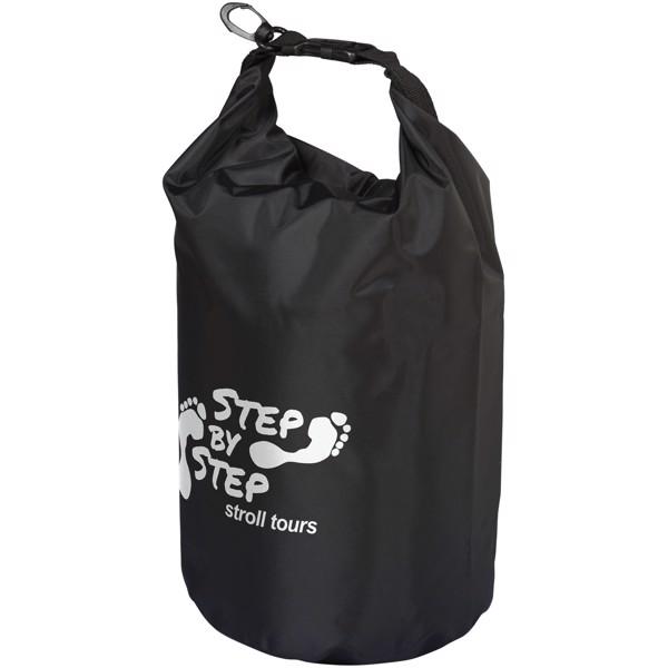 Nepromokavý vak Camper, 10 l, outdoorový styl - Černá