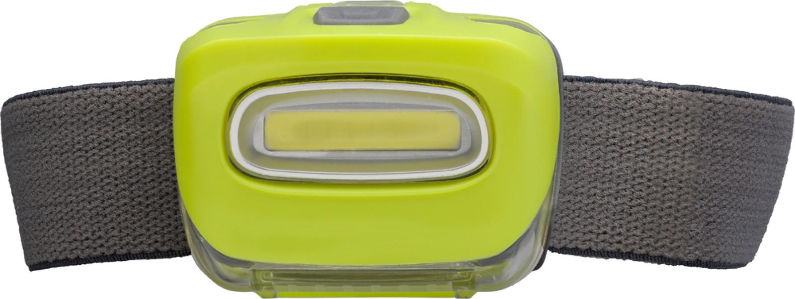 ABS head light - Lime