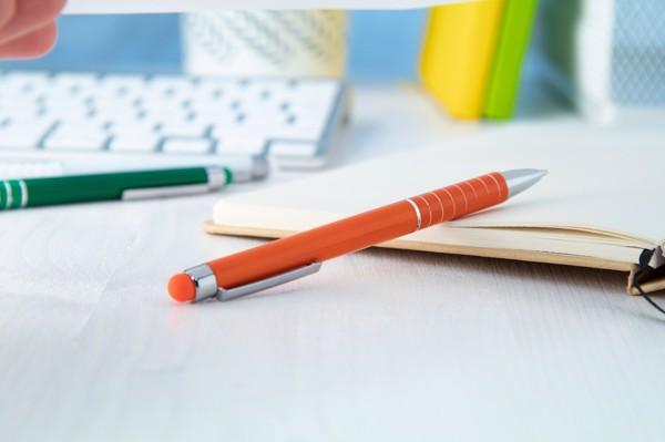 Dotykové Kuličkové Pero Nilf - Oranžová
