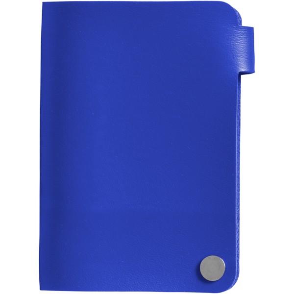 Pouzdro na karty Valencia - Světle modrá