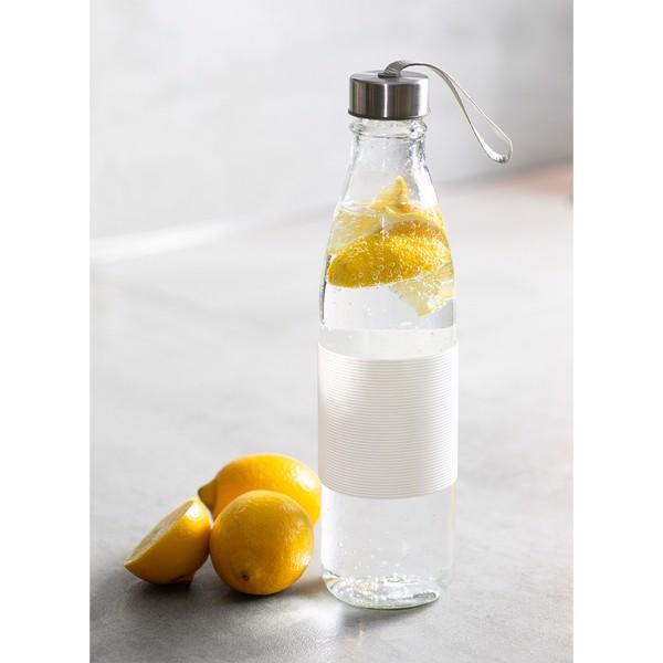 Szklana butelka Vigour 800 ml - Biały