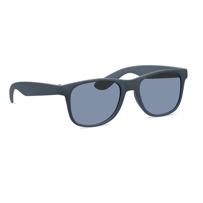 Gafas sol patillas em bambú/PP Bora - negro