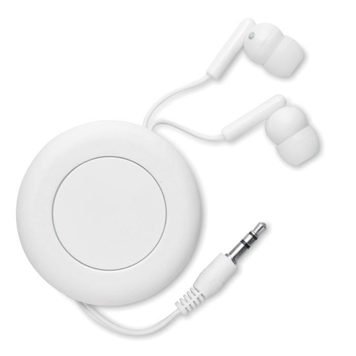 Słuchawki zwijane Sonido - biały