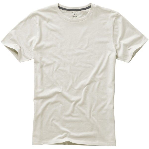 Nanaimo short sleeve men's t-shirt - Light grey / S