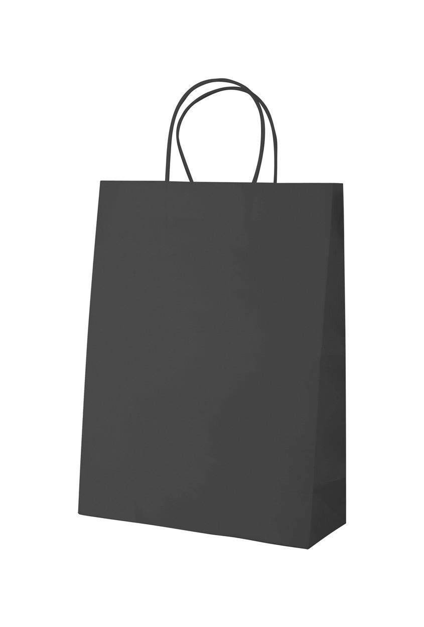 Papírová Taška Mall - Černá