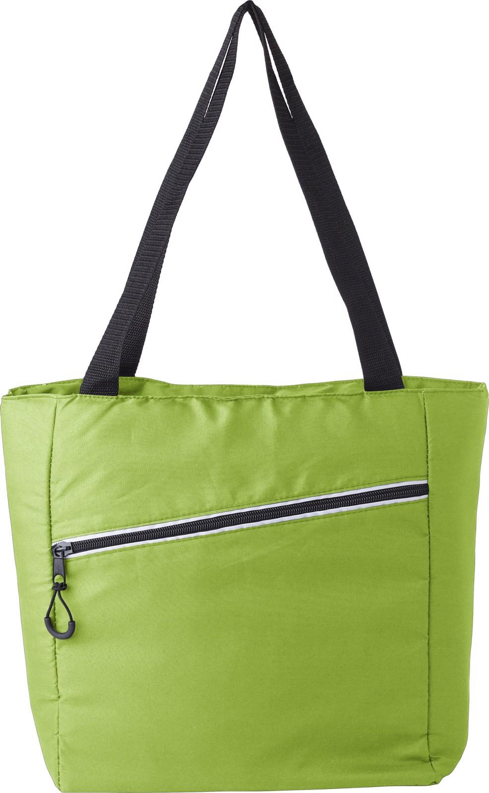 Pongee (75D) cooler bag - Lime