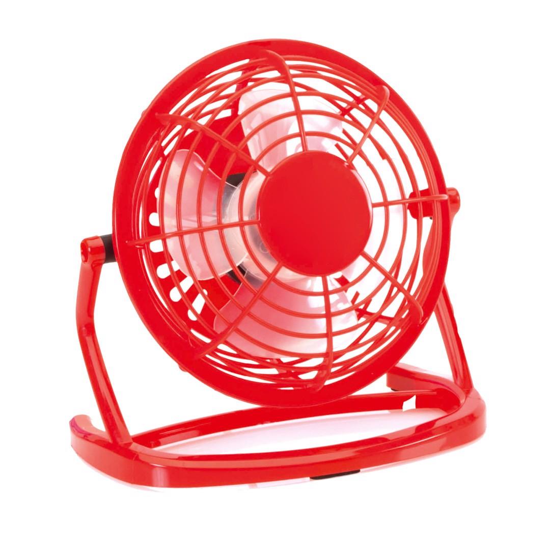 Miniventilador Miclox - Rojo