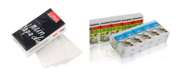 Reklamní papírové kapesníky balení 10ks