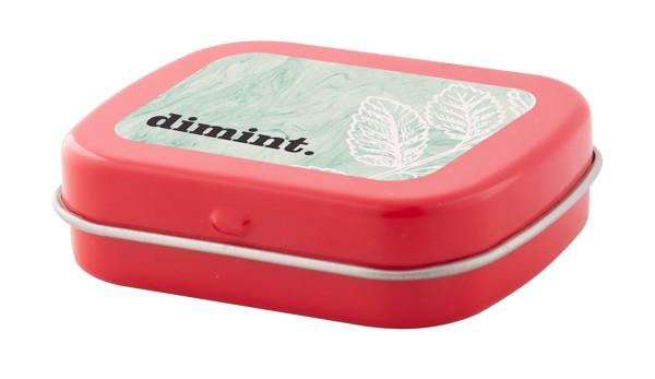 Krabička S Mintovými Bonbóny Flickies - Červená