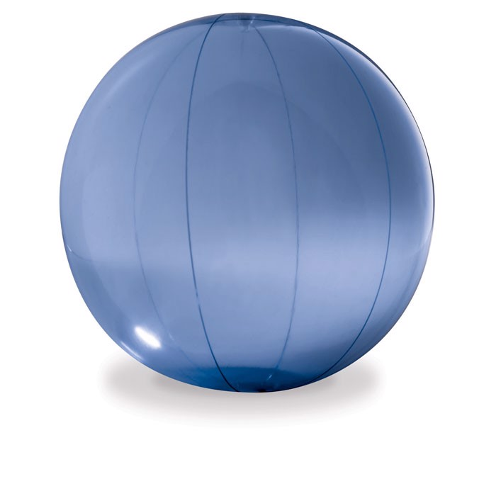Transparent beach ball Aqua - Blue