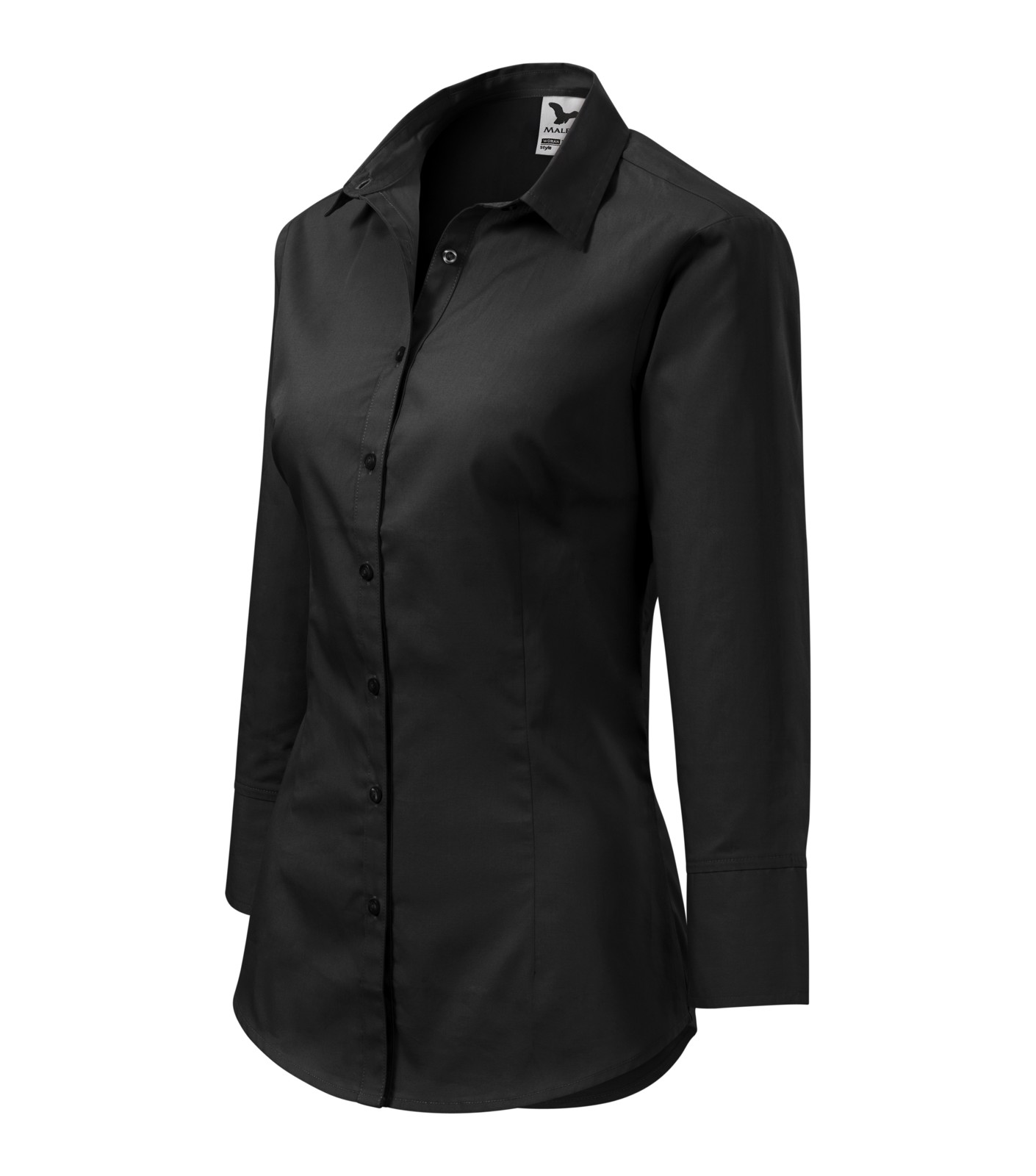 Shirt women's Malfini Style - Black / XL