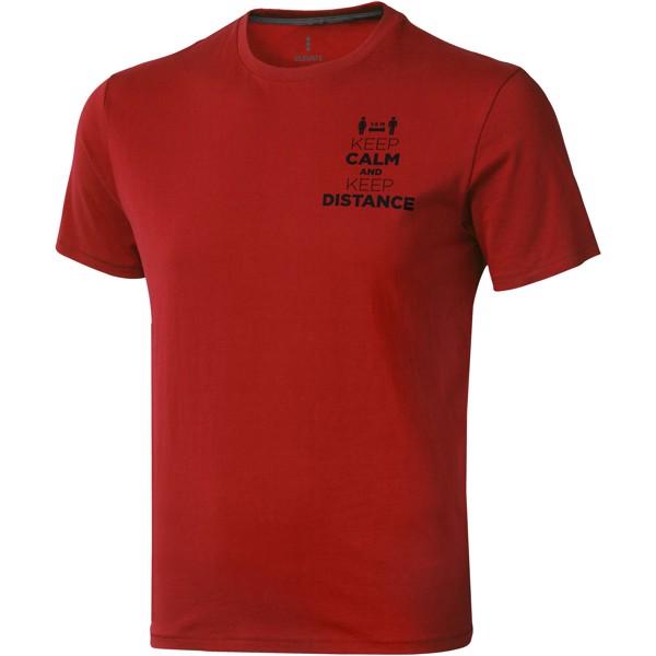 Nanaimo short sleeve men's t-shirt - Red / S