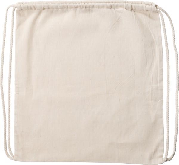 Cotton (120 gr/m²) backpack