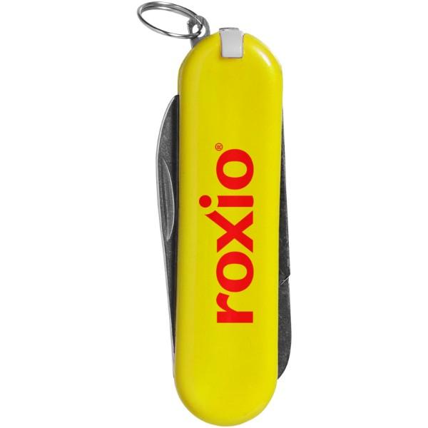 Kapesní nůž Oscar s 5 funkcemi - Žlutá