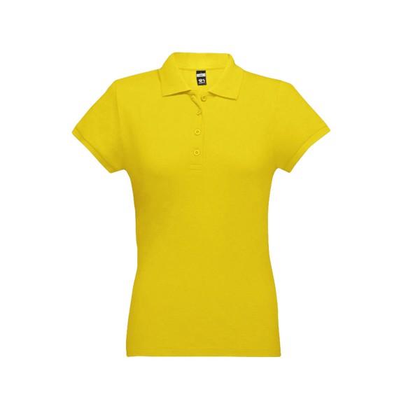 EVE. Γυναικεία πόλο μπλούζα - Κίτρινο / M