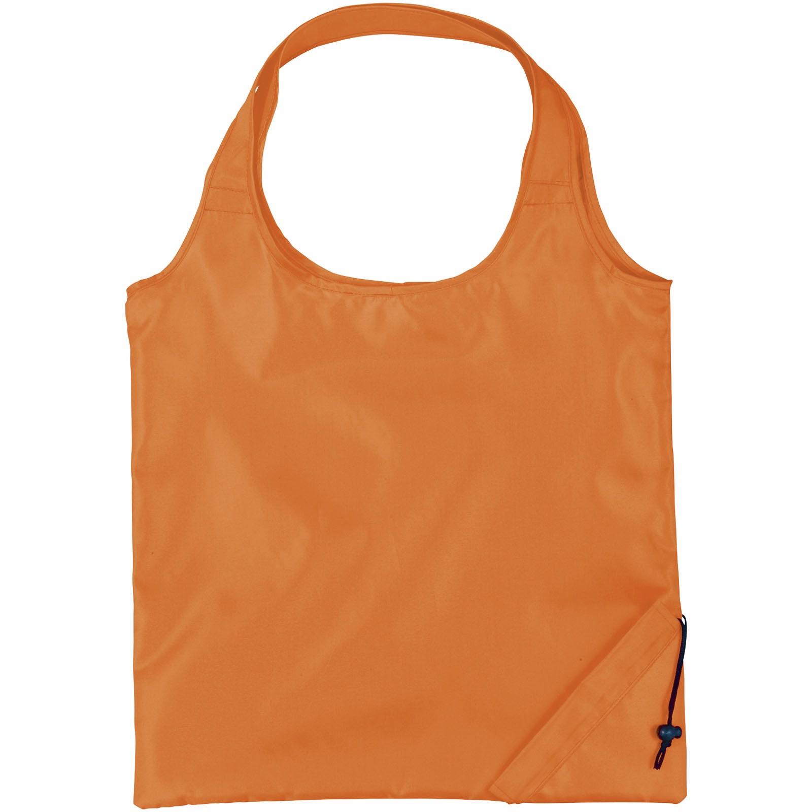Bungalow faltbare Polyester Tragetasche - Orange