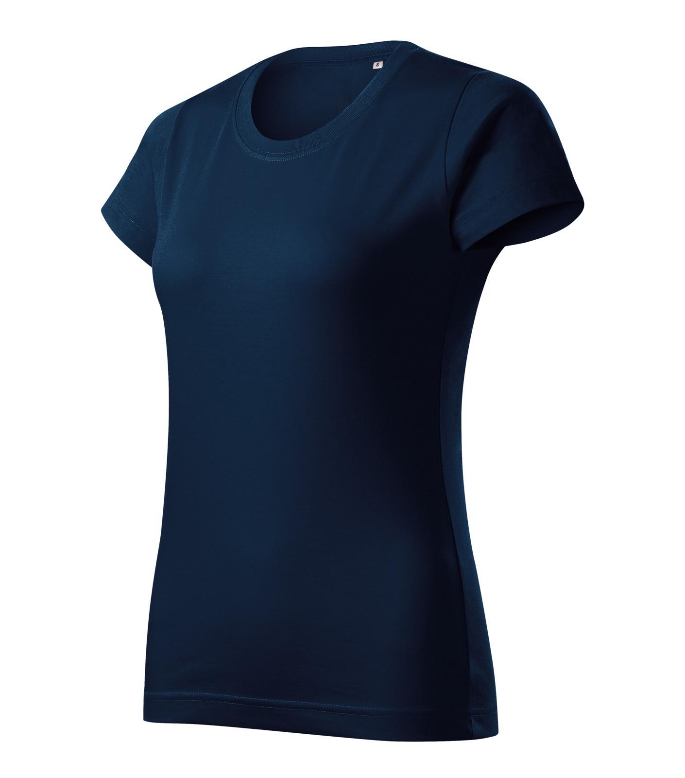 T-shirt women's Malfini Basic Free - Navy Blue / 2XL