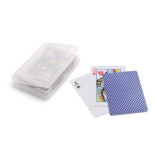 JOHAN. Pack of 54 cards - Blue