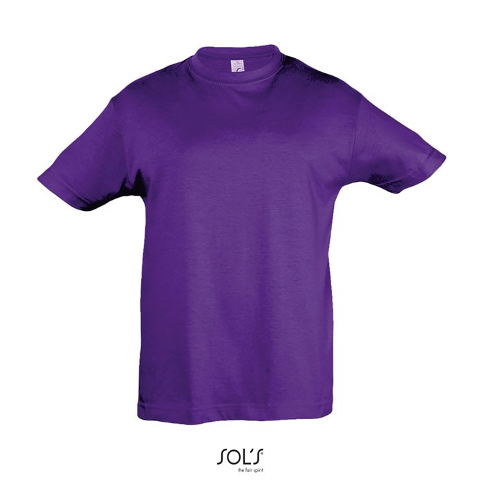 REGENT KIDS T-SHIRT 150g - Dark Purple / XXL