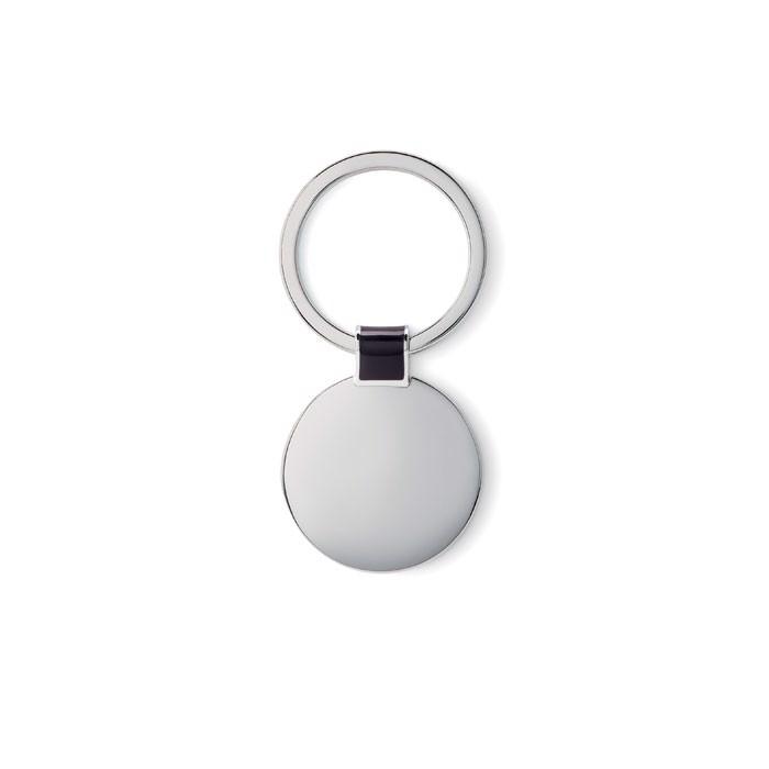 Schlüsselring, rund Roundy - schwarz