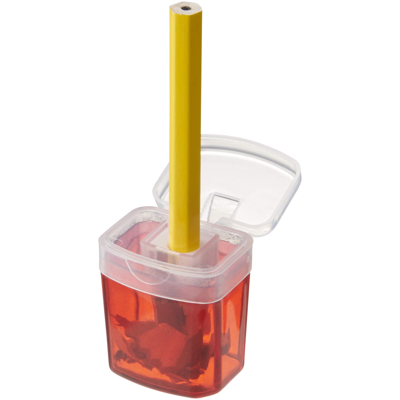 Sharpi sharpener with container - Red