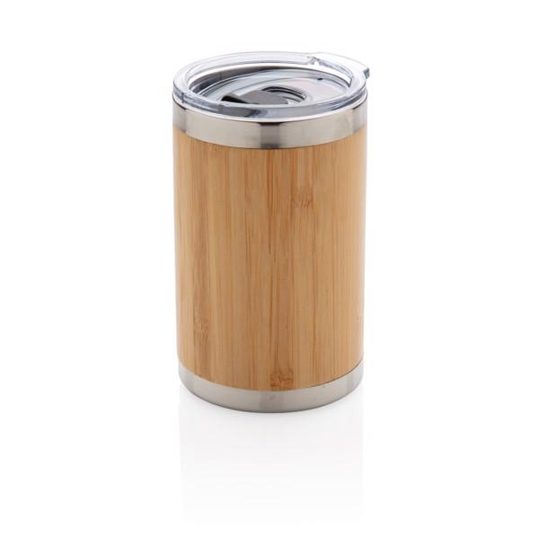 Bambusový termohrneček Coffee to go