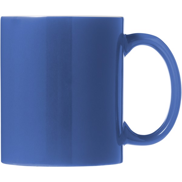 Java 330 ml ceramic mug - Blue / White