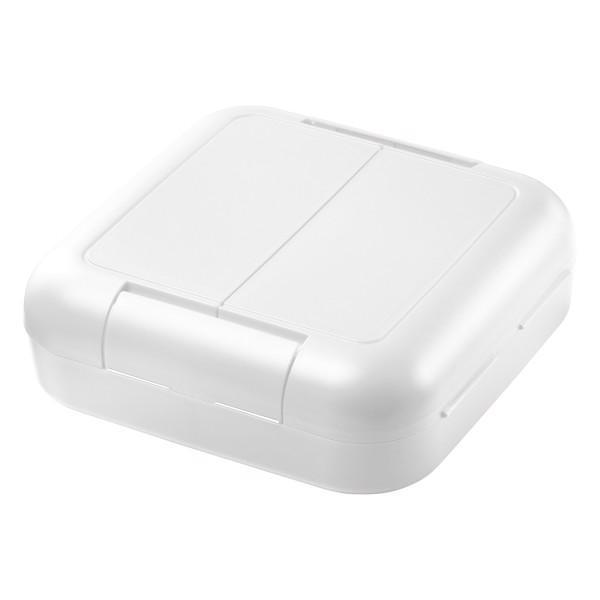 "Storage Box ""Twin Box"" Without Separating Wall - White"