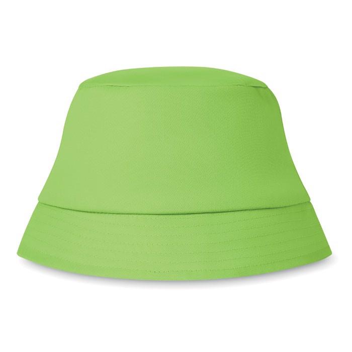 Cotton sun hat 160 gr/m² Bilgola - Lime