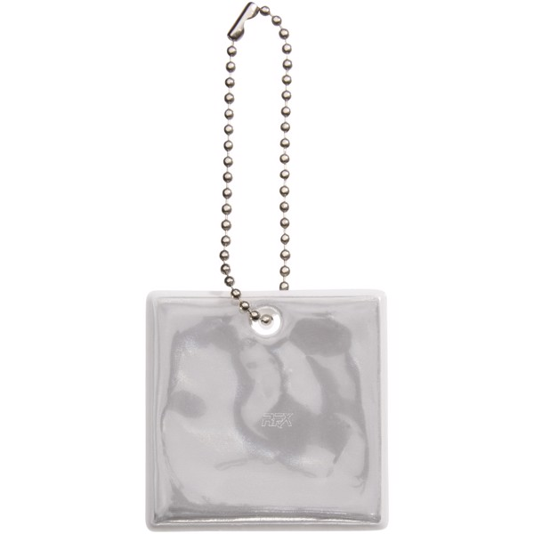 Reflective hanger square - White