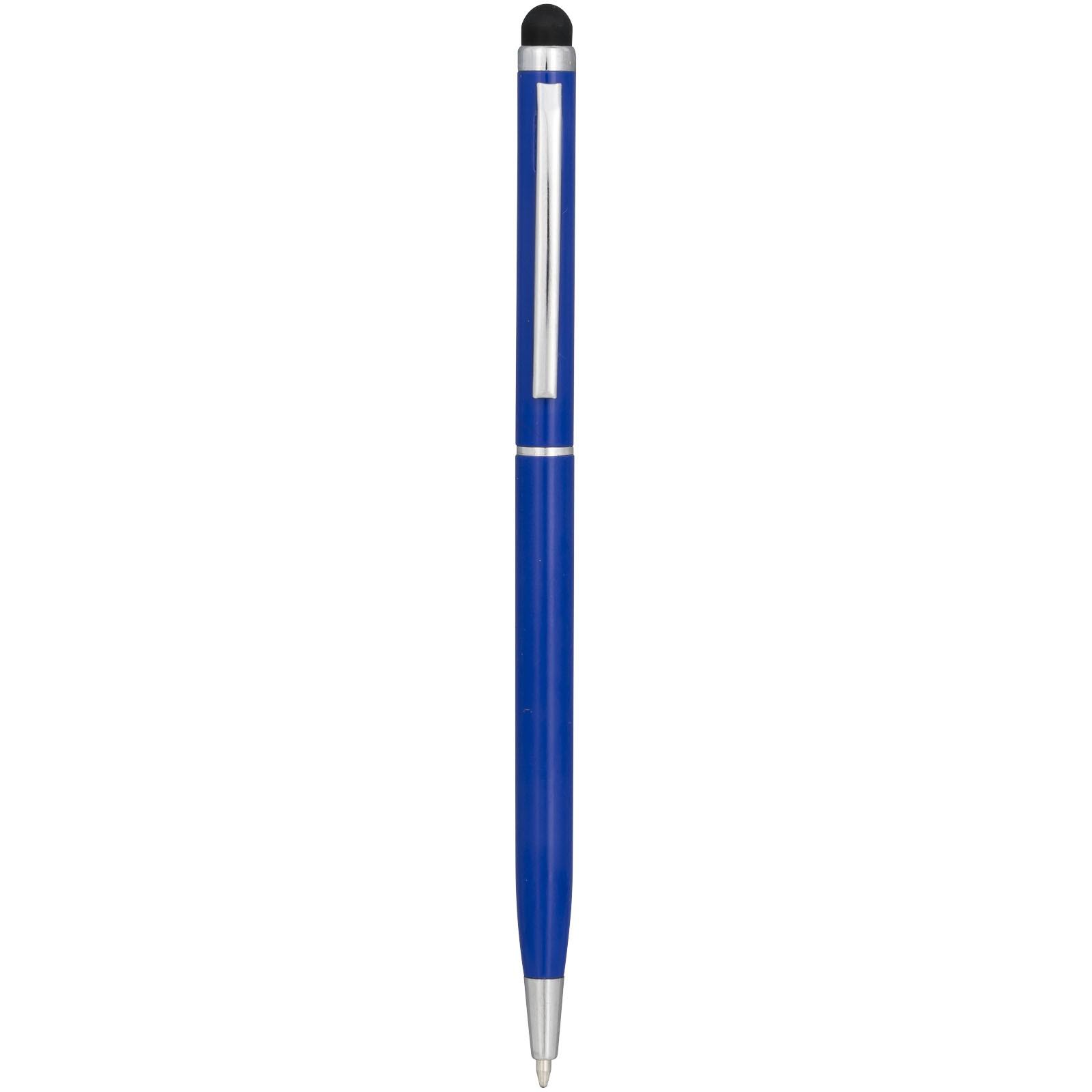 Hliníkové kuličkové pero Joyce - Světle modrá