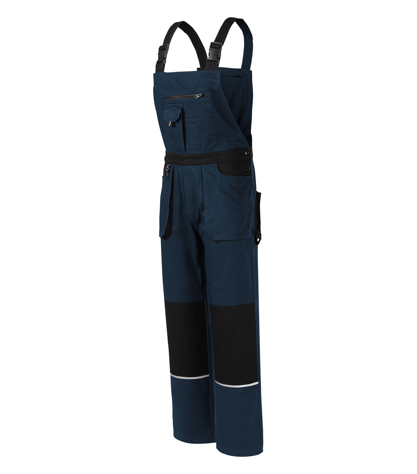 Work Bib Trousers Gents Rimeck Woody - Navy Blue / XL