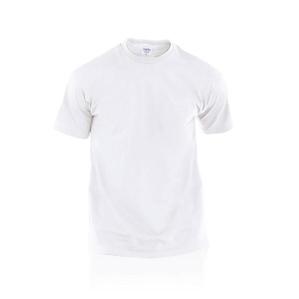 Camiseta Adulto Blanca Hecom - Blanco / XXL