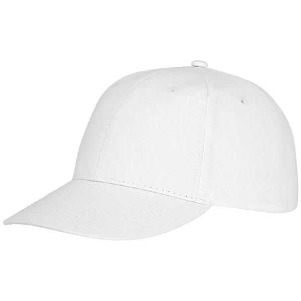 Ares 6panelová čepice - Bílá