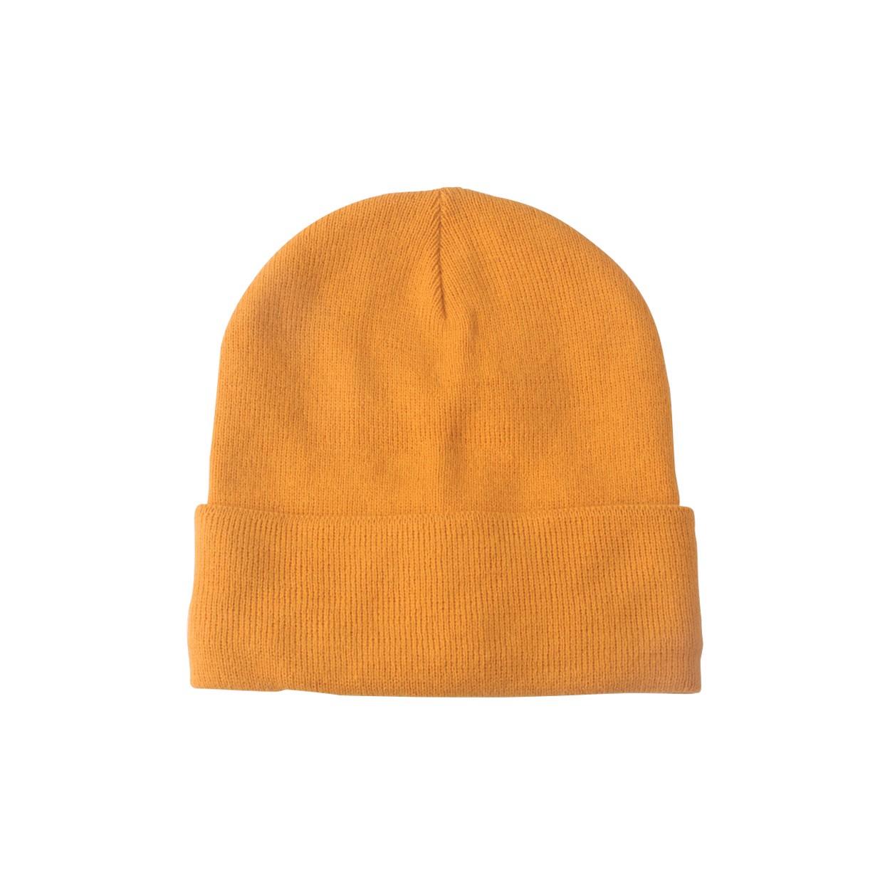 Zimní Čepice Lana - Oranžová