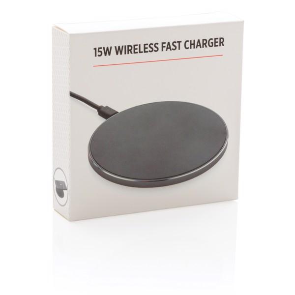 15W-os vezeték nélküli töltő gyorstöltéssel