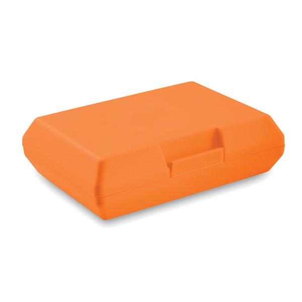 Pudełko śniadaniowe Basic Lunch - pomarańczowy