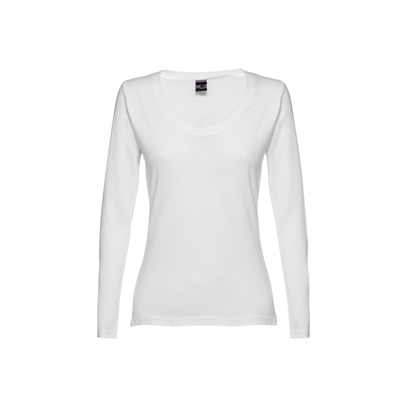 THC BUCHAREST WOMEN WH. Dámské tričko s dlouhým rukávem - Bílá / S
