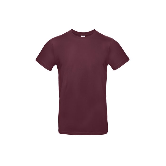 T-shirt male 185 g/m² #E190 T-Shirt - Burgundy / XS