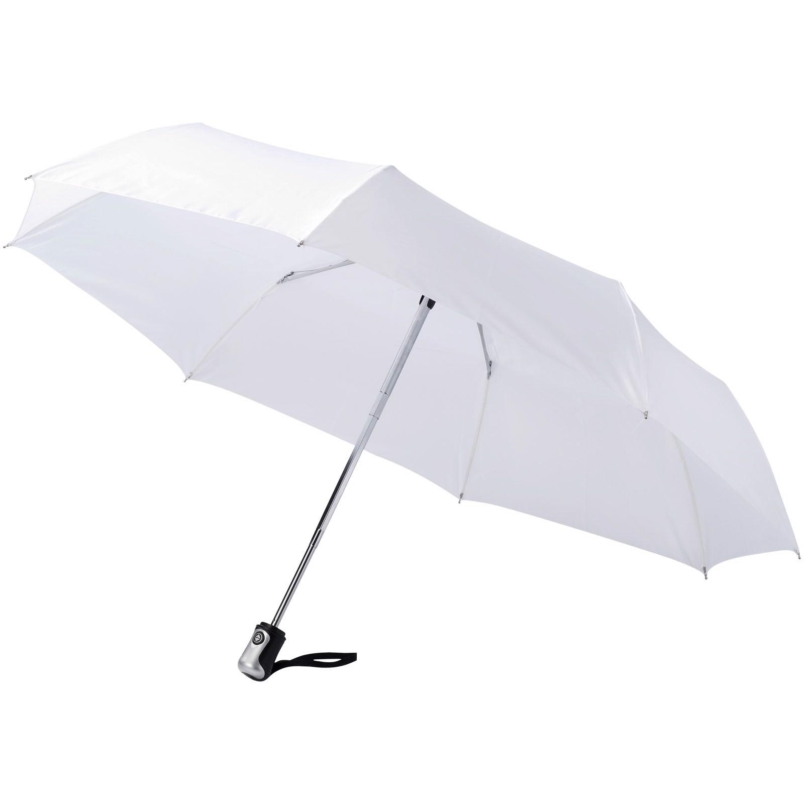 """21,5"""" deštník Alex s automatickým otvíráním/skládáním - Bílá"""