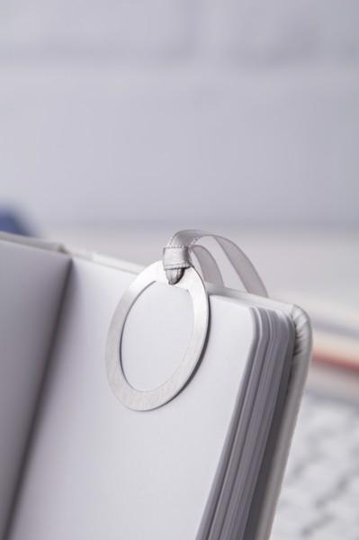 Bookmark Edelmark, Hexagon - Silver