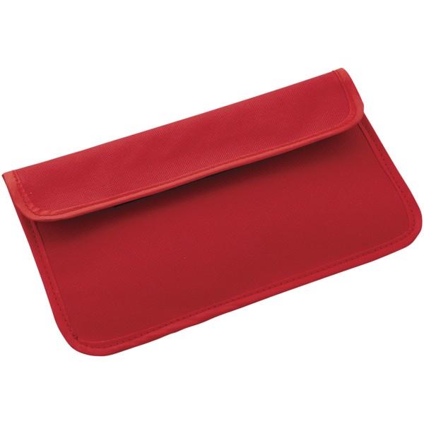 Chamber RFID blocker phone case - Red