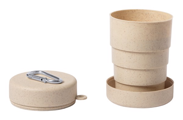 Foldable Cup Zedal - Natural